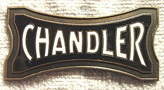 Chandler Motor Car - Chandler radiator emblem