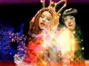 Ai no Hi Mittsu Orange - Chara and Yuki in the music video.