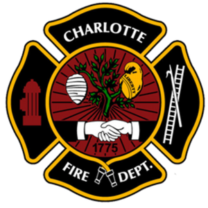 Charlotte Fire Department - Image: Charlotte Fire Department Logo