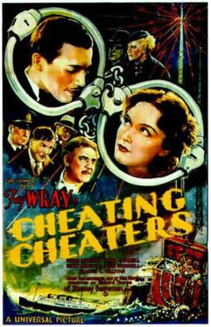 Cheating Cheaters (1934 film) - Theatrical release poster