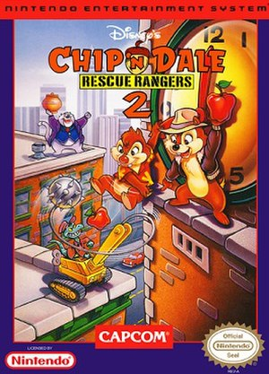 Chip 'n Dale Rescue Rangers 2 - Cover art