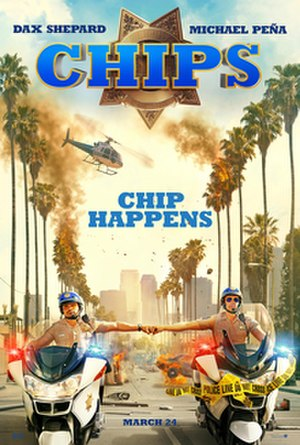CHiPs (film) - Theatrical release poster