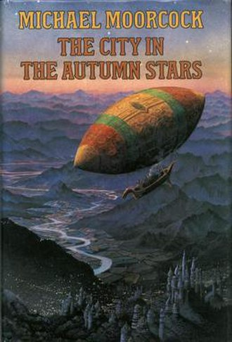 The City in the Autumn Stars - dust-jacket from the first edition