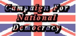 National Democrats (United Kingdom) - Image: Cndlogo