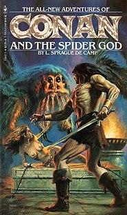 <i>Conan and the Spider God</i> novel by L. Sprague de Camp
