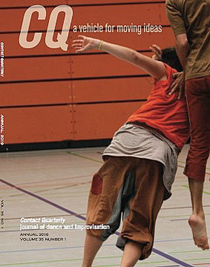 Contact Quarterly - Annual 2010 cover of CQ