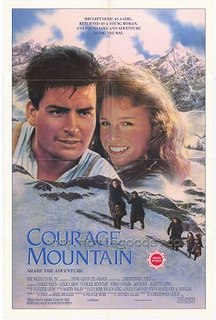 <i>Courage Mountain</i> 1990 film directed by Christopher Leitch