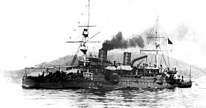 Italian cruiser Giovanni Bausan - Giovanni Bausan some time before 1913