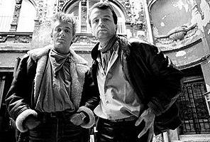 D' Boys-Kernmitglieder: Peđa D'Boy und Miško Mihajlovski.