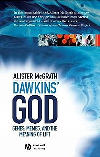 <i>Dawkins God</i> book by Alister McGrath