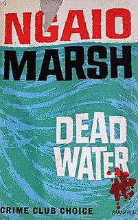 <i>Dead Water</i> (novel) book by Ngaio Marsh