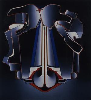 Deborah Remington - Haddonfield (1965), oil on canvas, Whitney Museum of American Art, New York