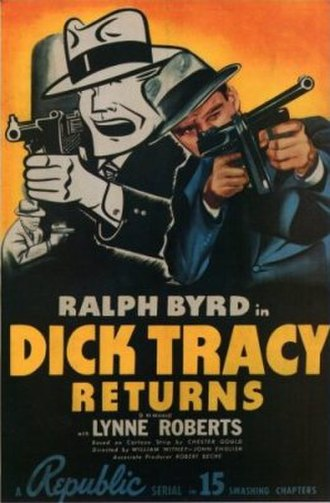 Dick Tracy Returns - Image: Dick Tracy Returns