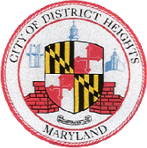 District Heights, Maryland - Image: District Heights MD City Seal