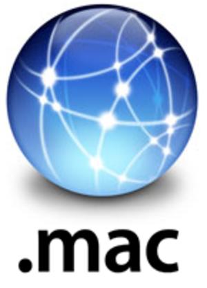 MobileMe - .Mac logo