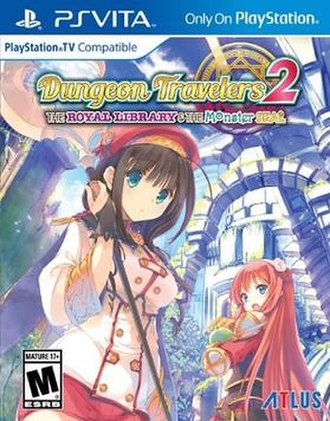 Dungeon Travelers 2 - North American game cover