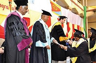 EUCLID (university) - Eritrea LOT3 Graduation Ceremony 2012
