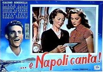 Naples Sings - Image: E Napoli canta
