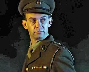Doug Bradley as Captain Elliott Spenser in Hel...