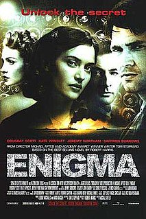 <i>Enigma</i> (2001 film) 2001 film directed by Michael Apted