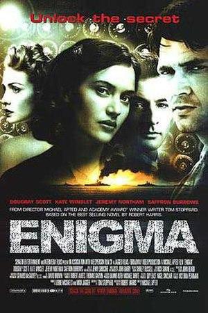 Enigma (2001 film) - Theatrical release poster