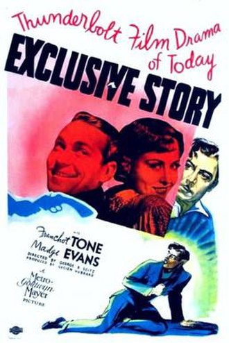 Exclusive Story - Theatrical release poster