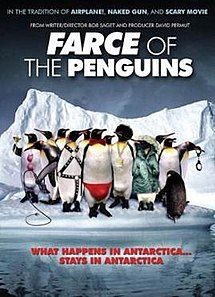 Farce of the penguins wikipedia for Farcical in french