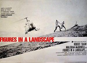 Figures in a Landscape (film) - Image: Figures in a Landscape (film) UK POSTER