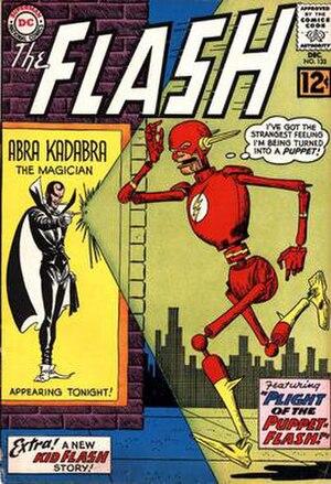 Abra Kadabra (comics) - Image: Flash 133