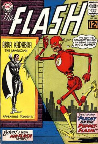 Abra Kadabra (comics) - Image: Flash 133
