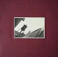 One of the three different vinyl album covers