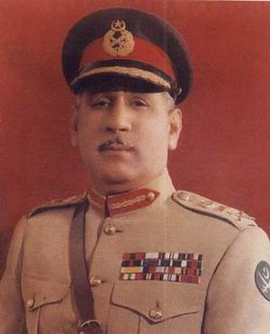 Chief of Army Staff (Pakistan) - Image: General.Tikka Khan