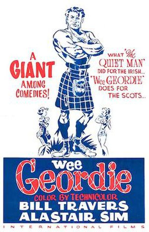 Geordie (film) - US film poster for Geordie