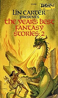 <i>The Years Best Fantasy Stories: 2</i> book by Lin Carter