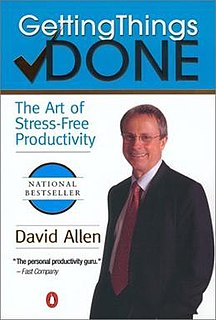 <i>Getting Things Done</i> 2001 book by David Allen