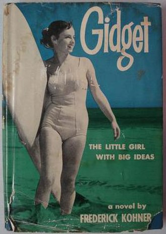 Gidget - Gidget, first edition dustjacket