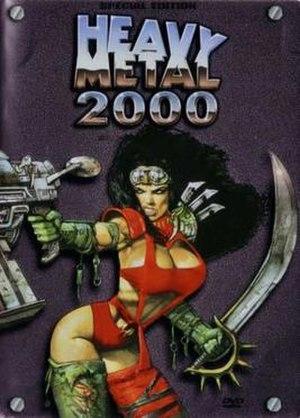 Heavy Metal 2000 - Image: Heavy Metal 2000 poster