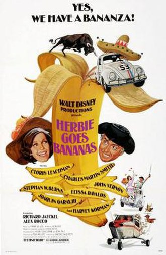 Herbie Goes Bananas - Theatrical release poster
