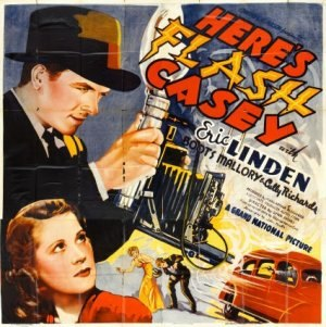 Here's Flash Casey - Image: Here's Flash Casey Film Poster