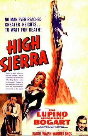 High Sierra (film) - Theatrical release poster