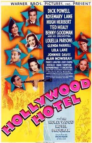 Hollywood Hotel (film) - theatrical release poster