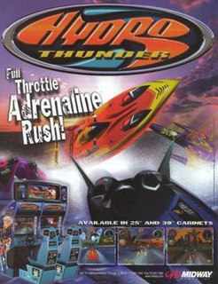 <i>Hydro Thunder</i> 1999 video game