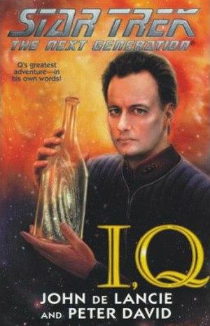 "I, Q - Cover art of the novel ""I, Q"""