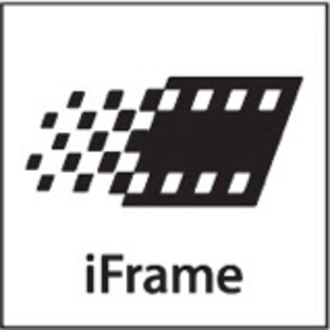 IFrame (video format) - iFrame logo