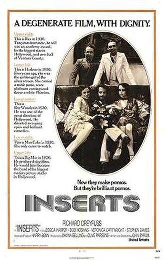 Inserts (film) - Film poster