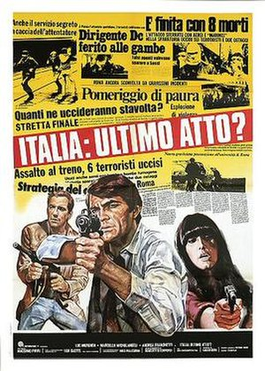 Could It Happen Here? - Italian theatrical release poster
