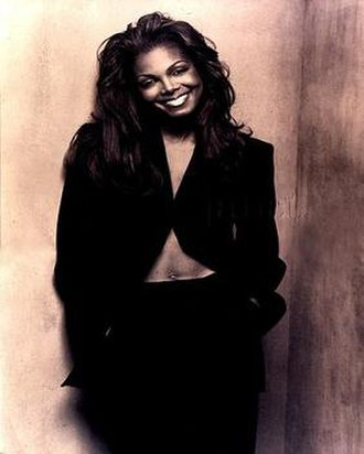 Janet World Tour - Tour Book Cover