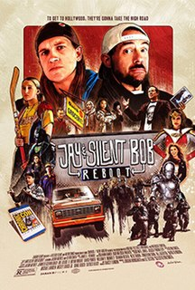 <i>Jay and Silent Bob Reboot</i> 2019 film by Kevin Smith