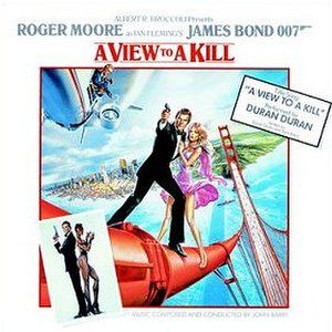 A View to a Kill (soundtrack) - Image: John Barry A View to a Kill album cover