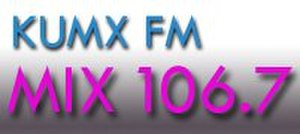 KUMX - Image: KUMX logo
